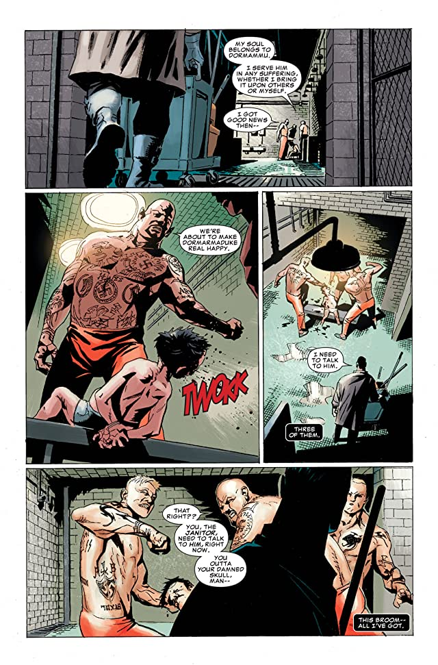 click for super-sized previews of Punisher: In the Blood #1