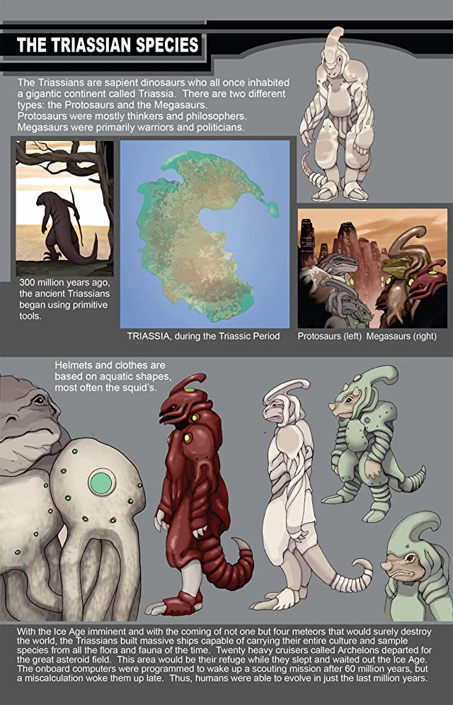 click for super-sized previews of Dinowars #1: Extinction Files
