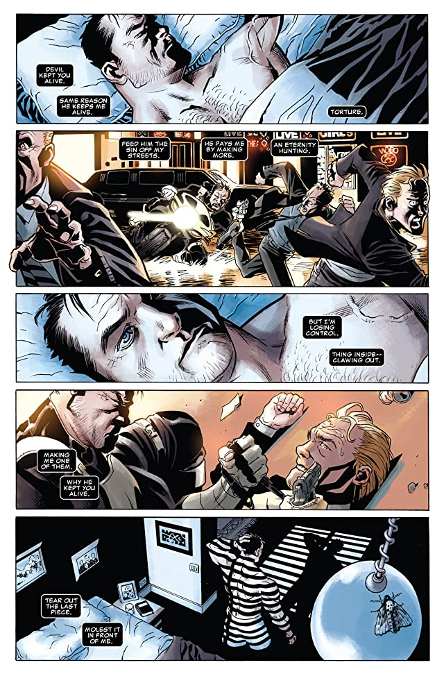 click for super-sized previews of Punisher: In the Blood #3