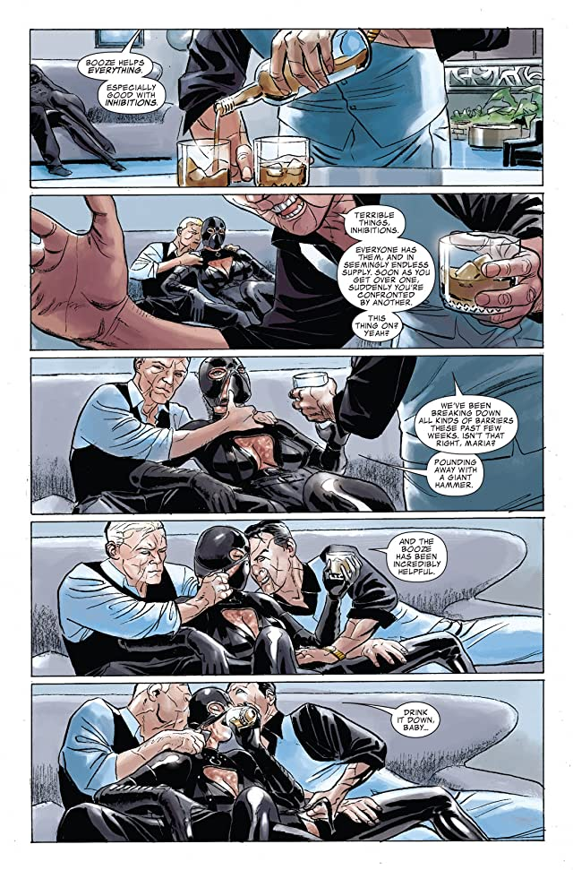 click for super-sized previews of Punisher: In the Blood #4