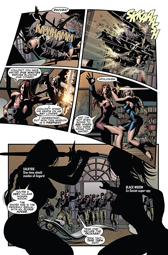 click for super-sized previews of Secret Avengers (2010-2012) #1