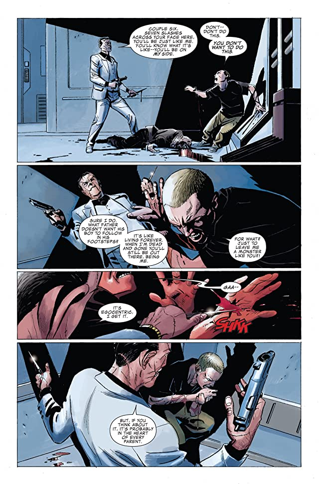 click for super-sized previews of Punisher: In the Blood #5