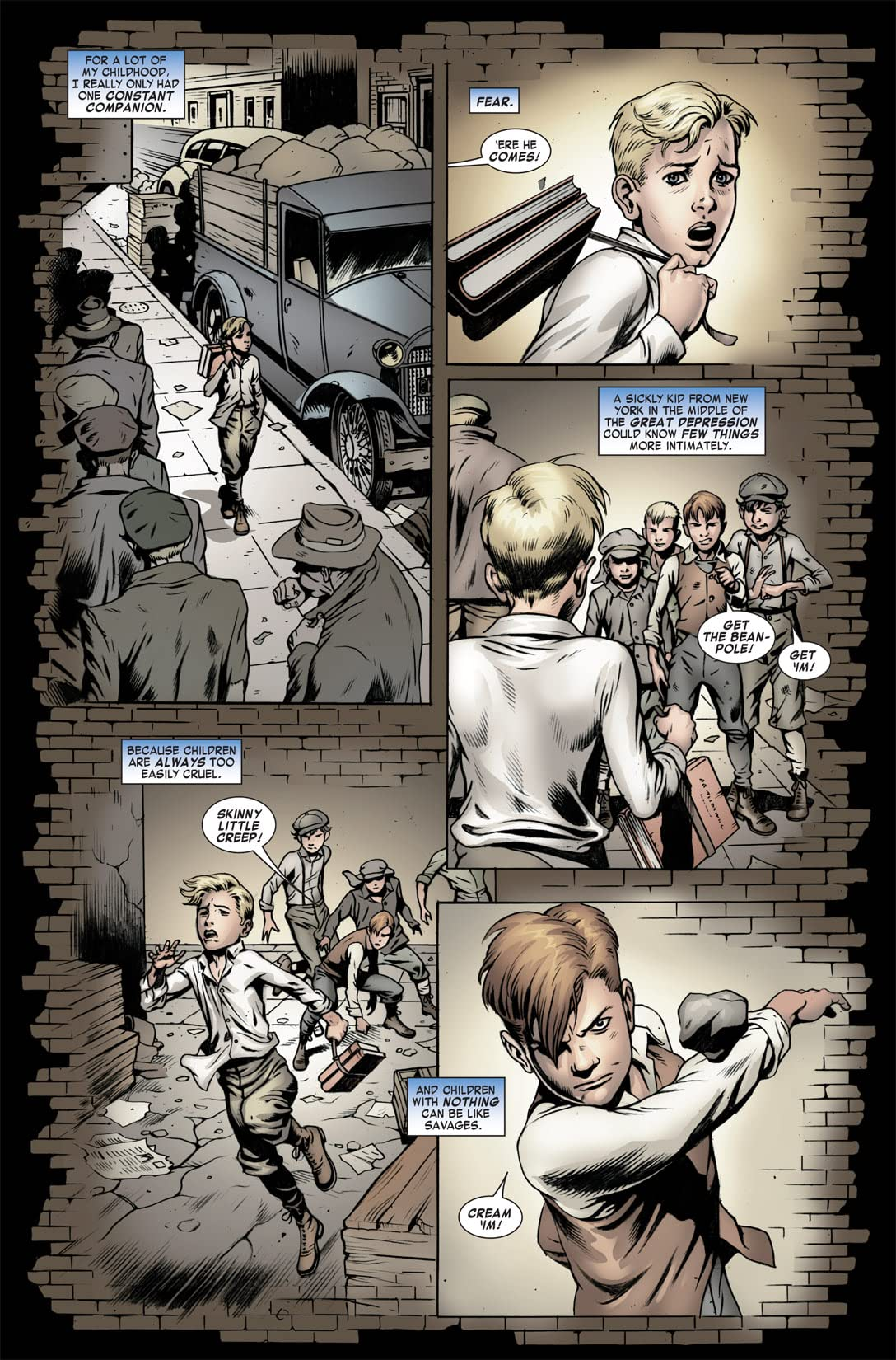 Steve Rogers: Super-Soldier #3 (of 4)
