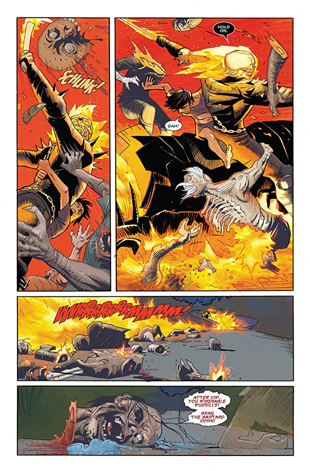 click for super-sized previews of Ghost Rider (2006-2009) #22