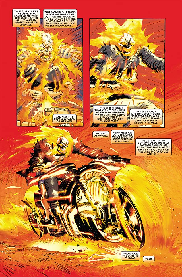 click for super-sized previews of Ghost Rider (2006-2009) #23