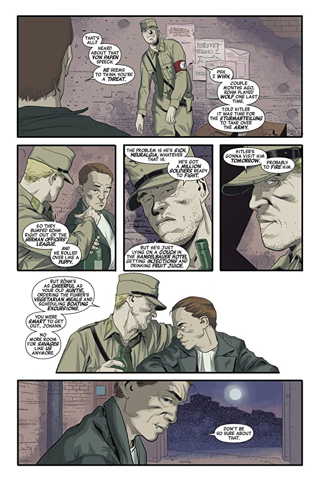 click for super-sized previews of Red Skull #5