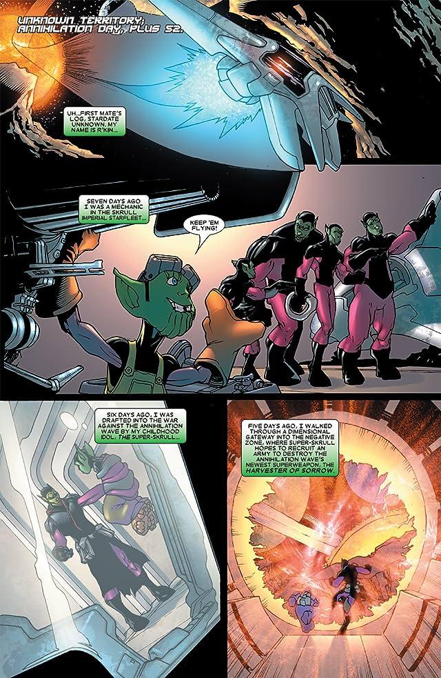 click for super-sized previews of Annihilation: Super Skrull #2