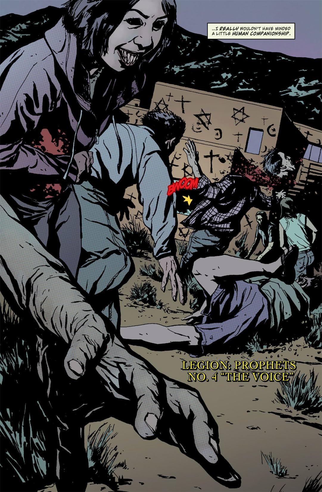 Legion: Prophets #4