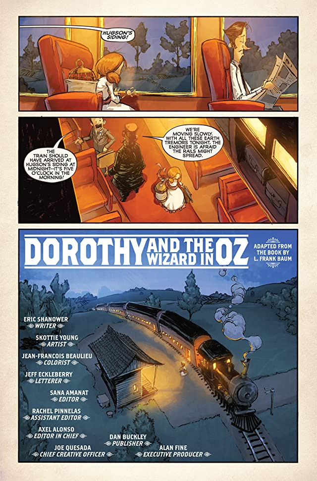 click for super-sized previews of Dorothy and the Wizard In Oz #1