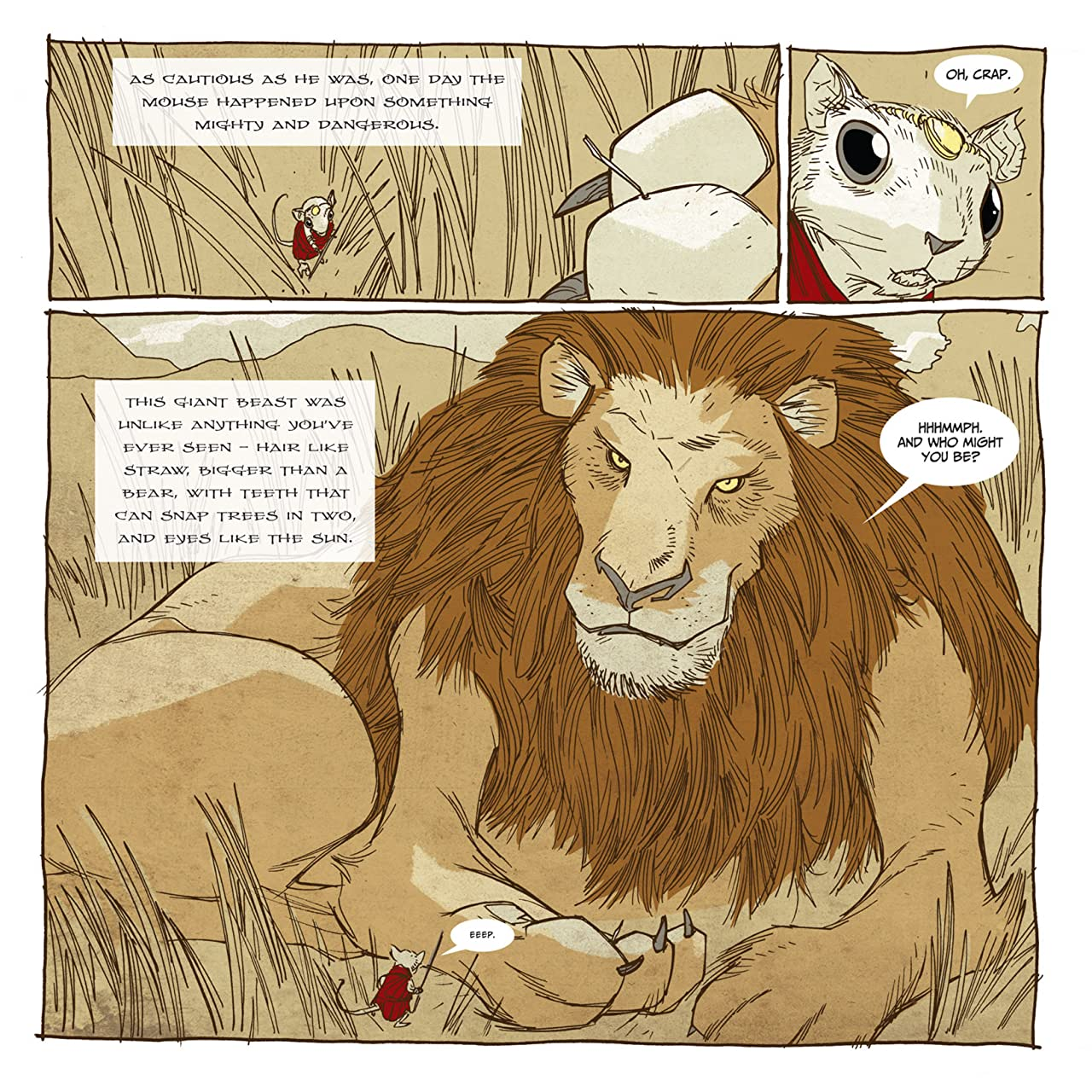 Mouse Guard: Legends of the Guard #4 (of 4)