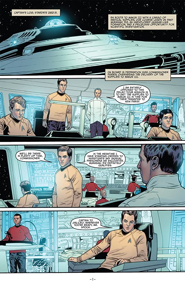 click for super-sized previews of Star Trek (2011-) #3