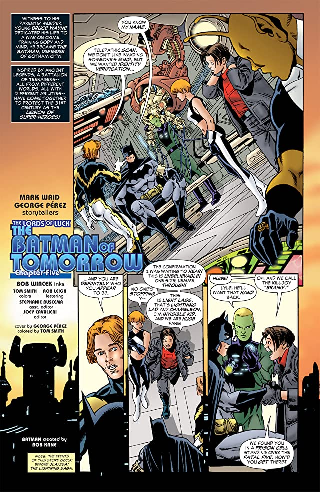 click for super-sized previews of The Brave and the Bold (2007-2010) #5
