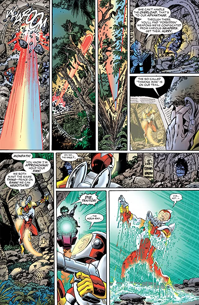 click for super-sized previews of The Brave and the Bold (2007-2010) #6