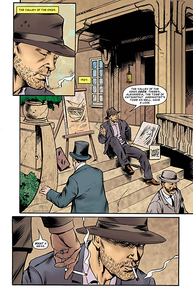 click for super-sized previews of The Murder of King Tut #3