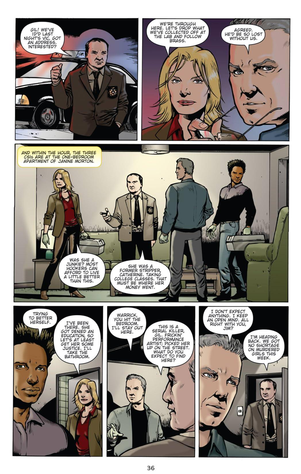 CSI: Serial #2