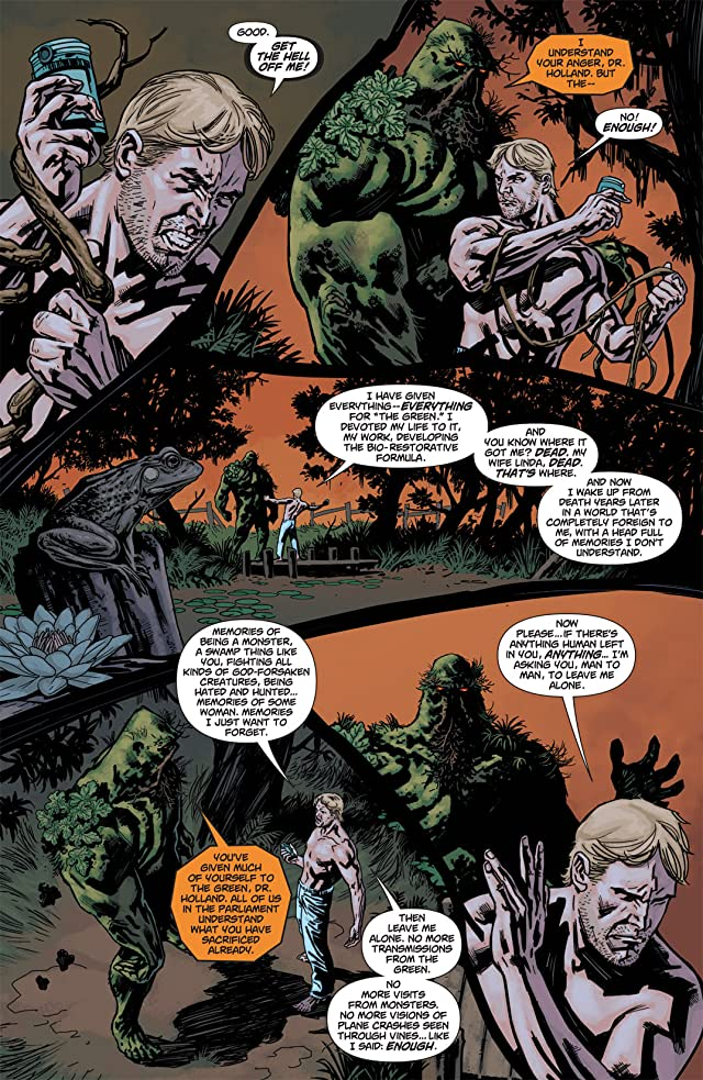 click for super-sized previews of Swamp Thing (2011-2015) #2