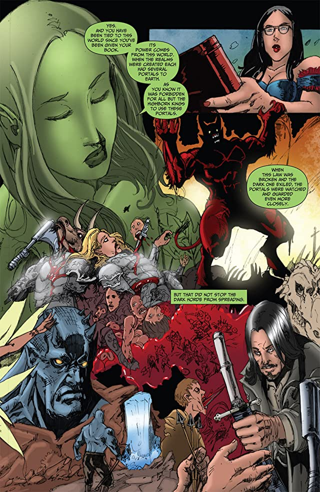 click for super-sized previews of Grimm Fairy Tales #49