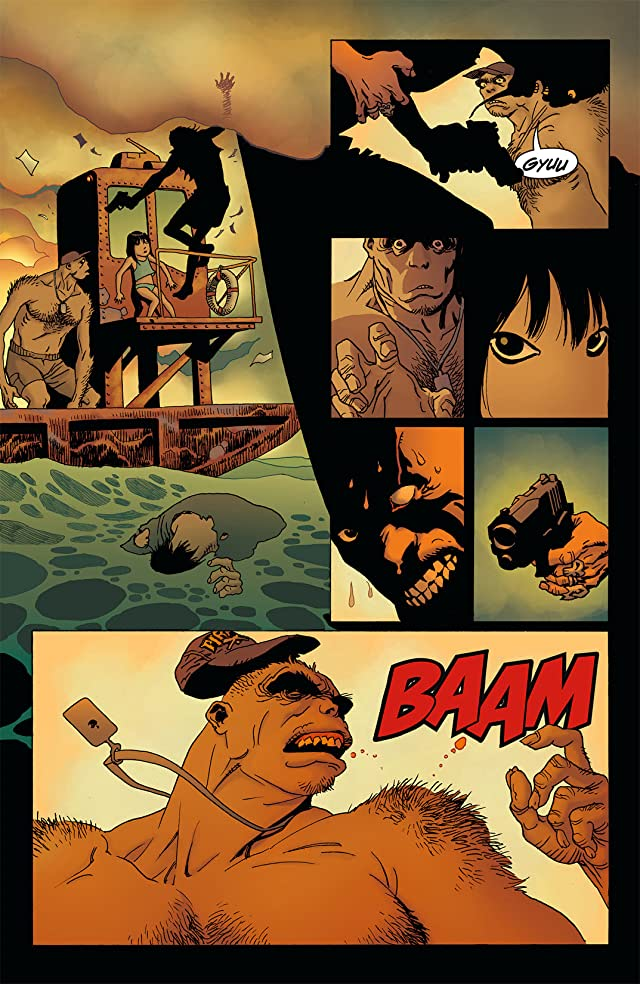 click for super-sized previews of Spaceman #2 (of 9)