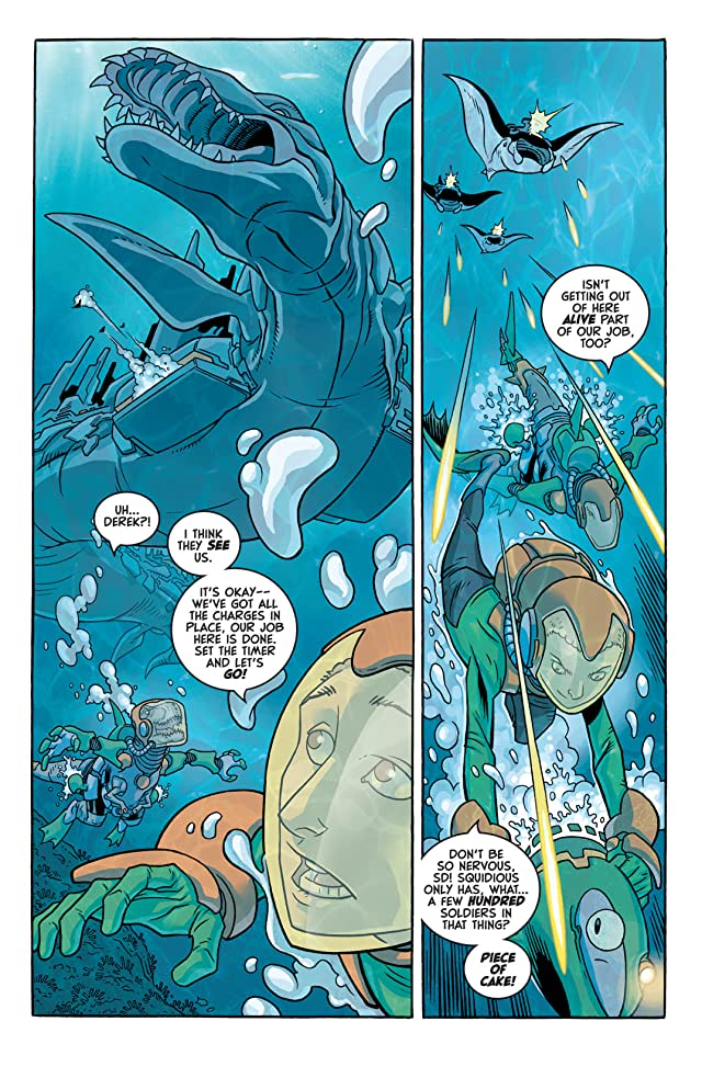 click for super-sized previews of Super Dinosaur #6