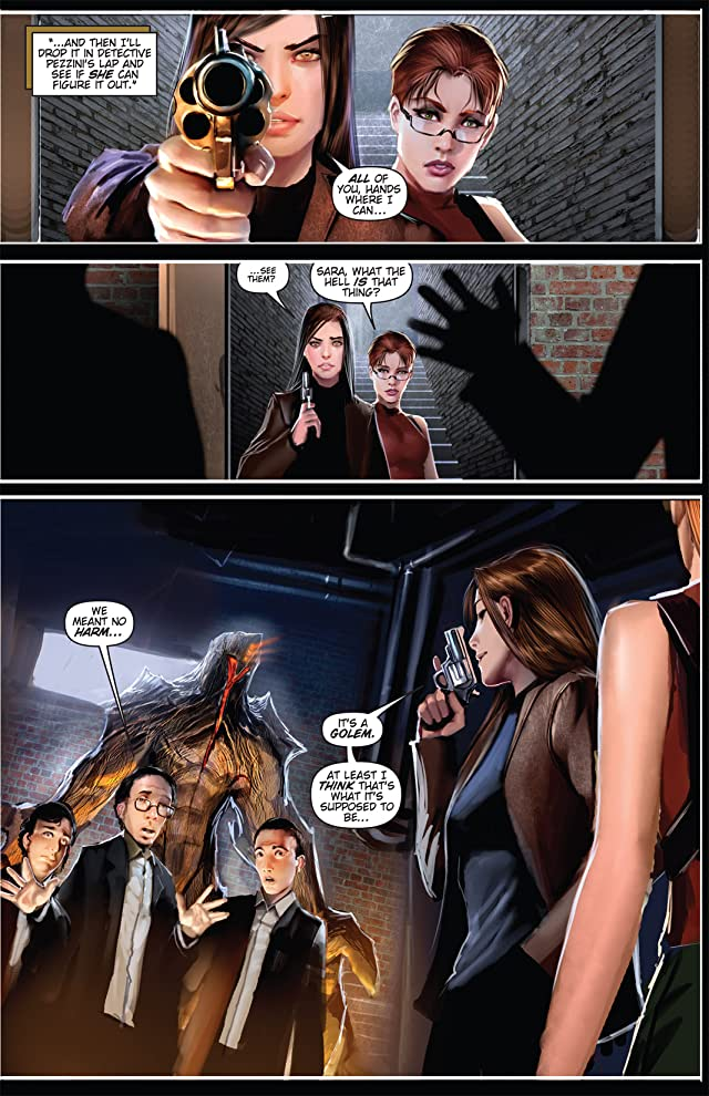 click for super-sized previews of Witchblade #122