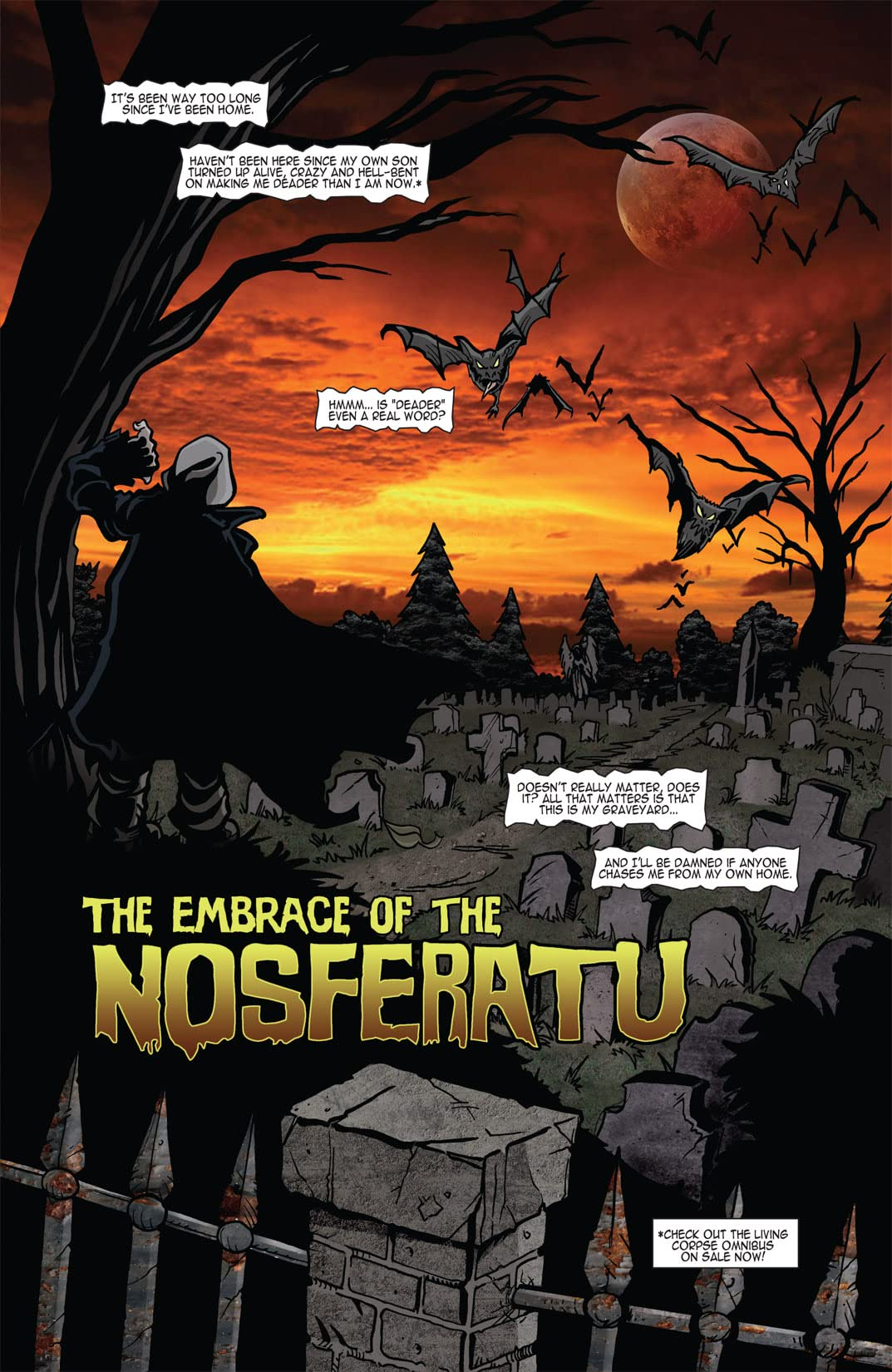 The Living Corpse: Exhumed #1 (of 6)