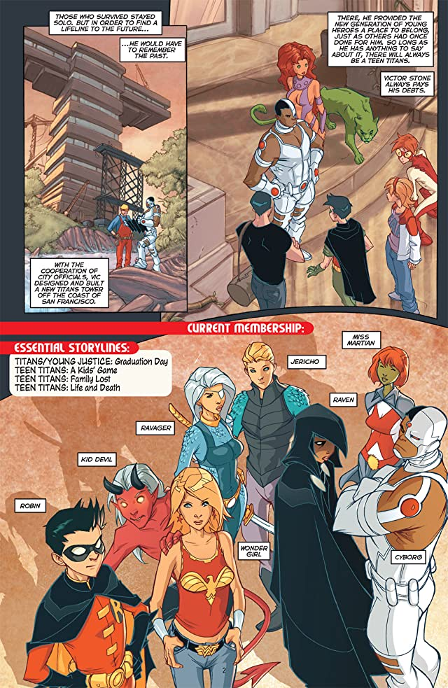 click for super-sized previews of Teen Titans 101
