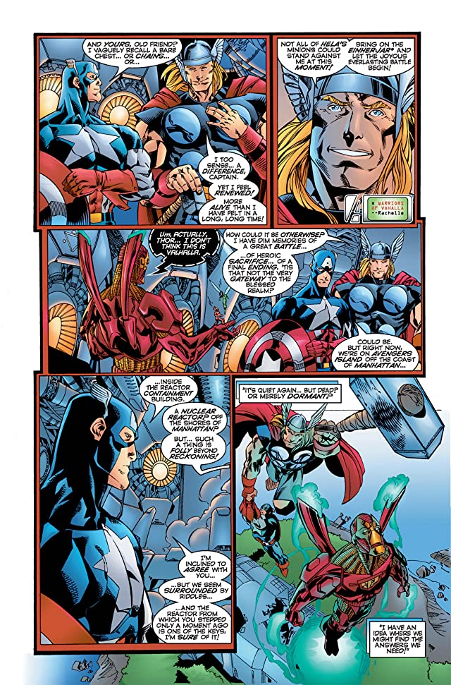 click for super-sized previews of Avengers (1996-1997) #10