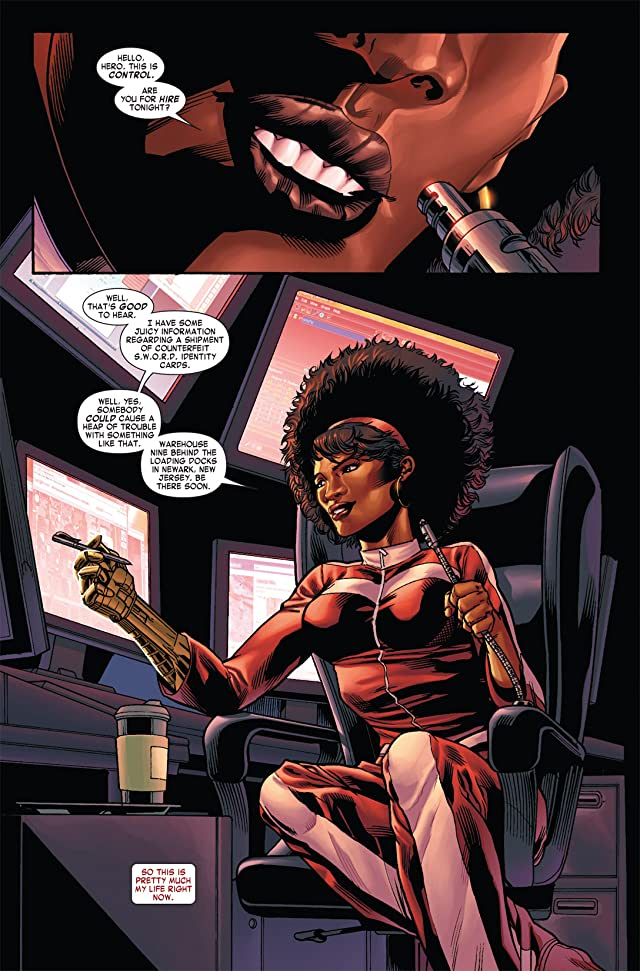 click for super-sized previews of Heroes For Hire (2010-2011) #4