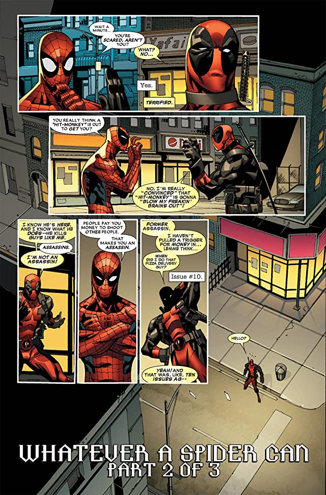 click for super-sized previews of Deadpool (2008-2012) #20