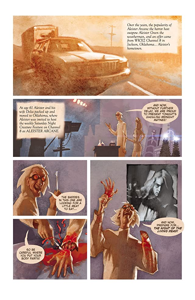 click for super-sized previews of Aleister Arcane #1