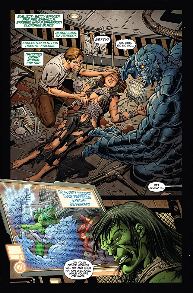 click for super-sized previews of Incredible Hulk (1999-2008) #610