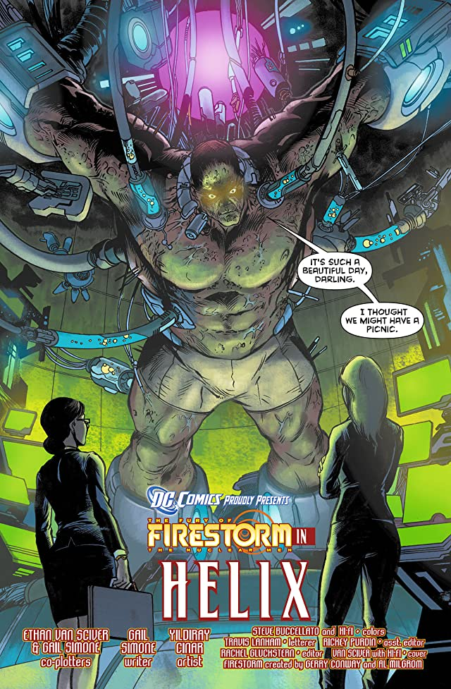 The Fury of Firestorm: The Nuclear Men (2011-2013) #3