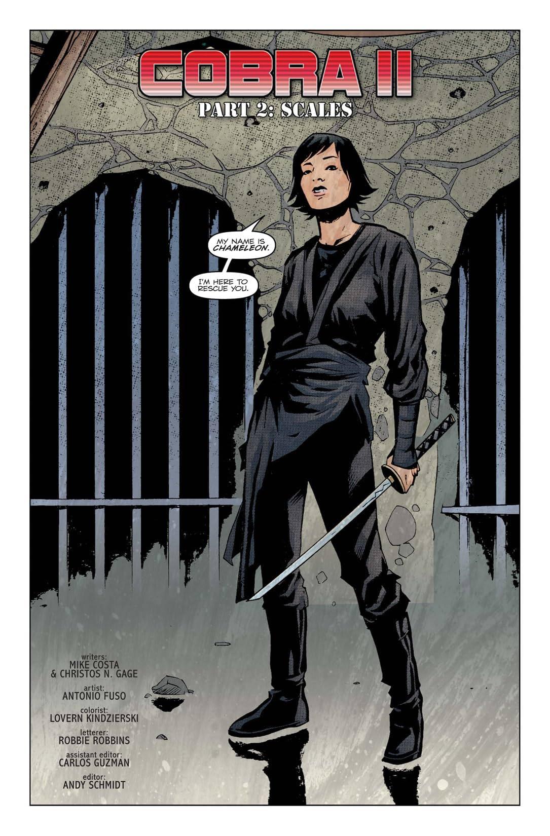 G.I. Joe: Cobra #2: Cobra II - Scales