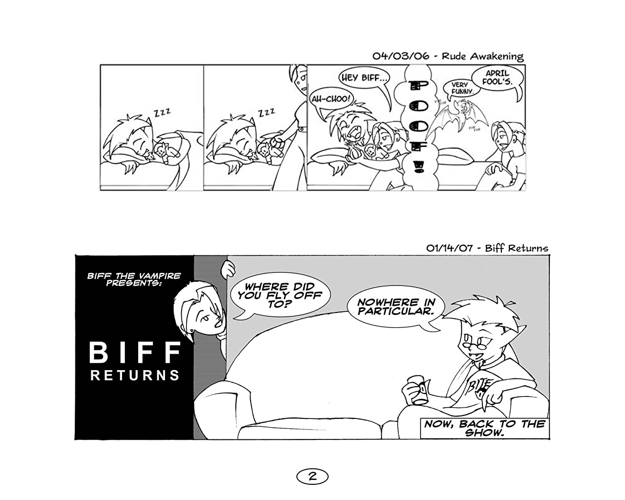 Biff the Vampire Vol. 1: Once Upon a Time in Willimantic...
