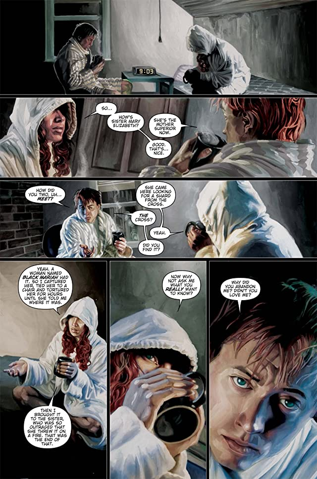 click for super-sized previews of Fallen Angel #5