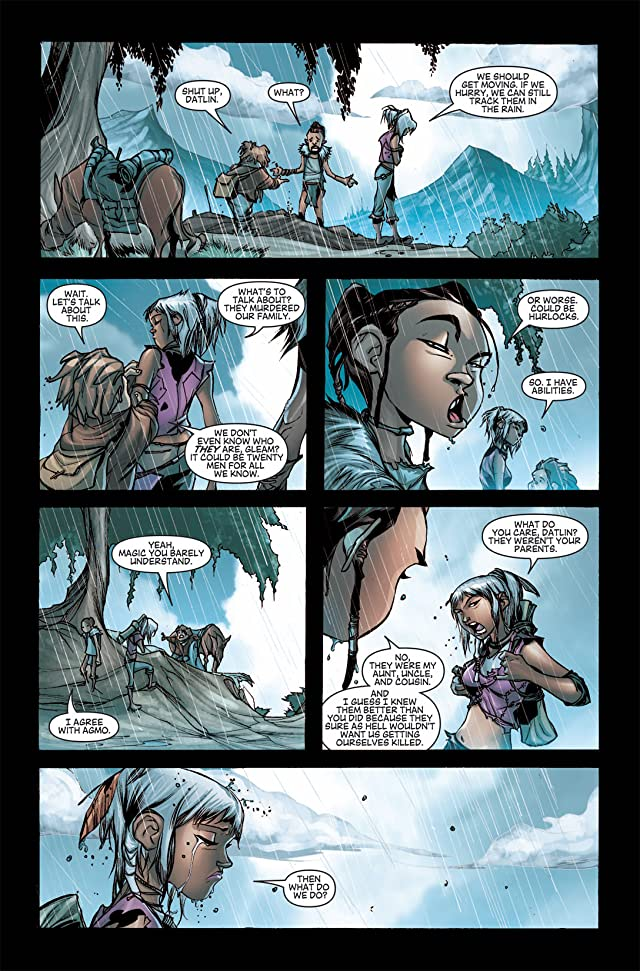 click for super-sized previews of Dragon Age #3