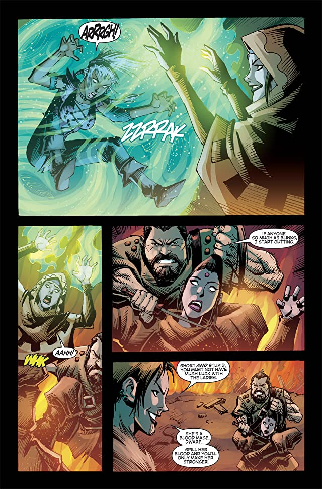 click for super-sized previews of Dragon Age #6