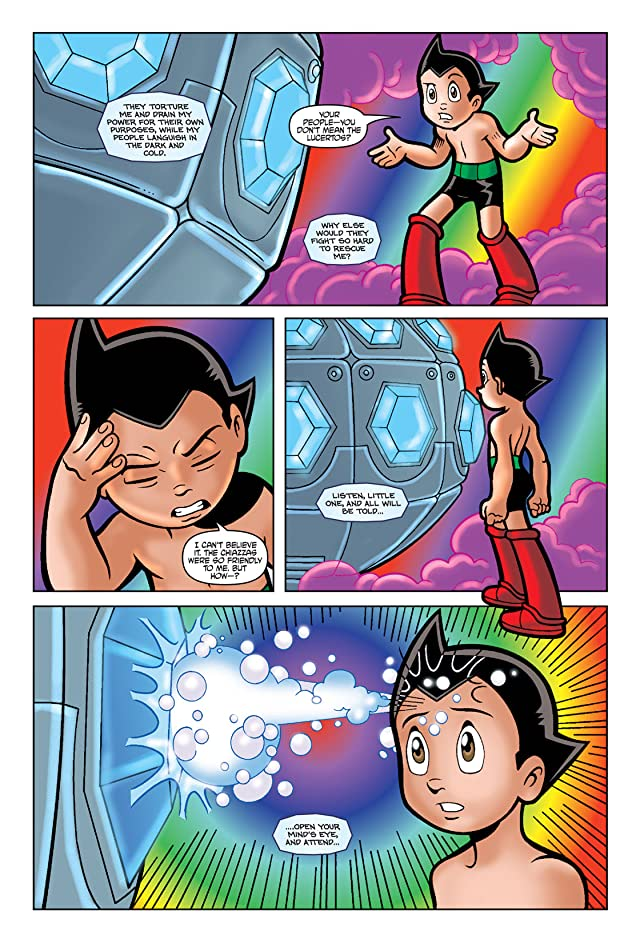 click for super-sized previews of Astro Boy: Underground - The Official Movie Prequel #4
