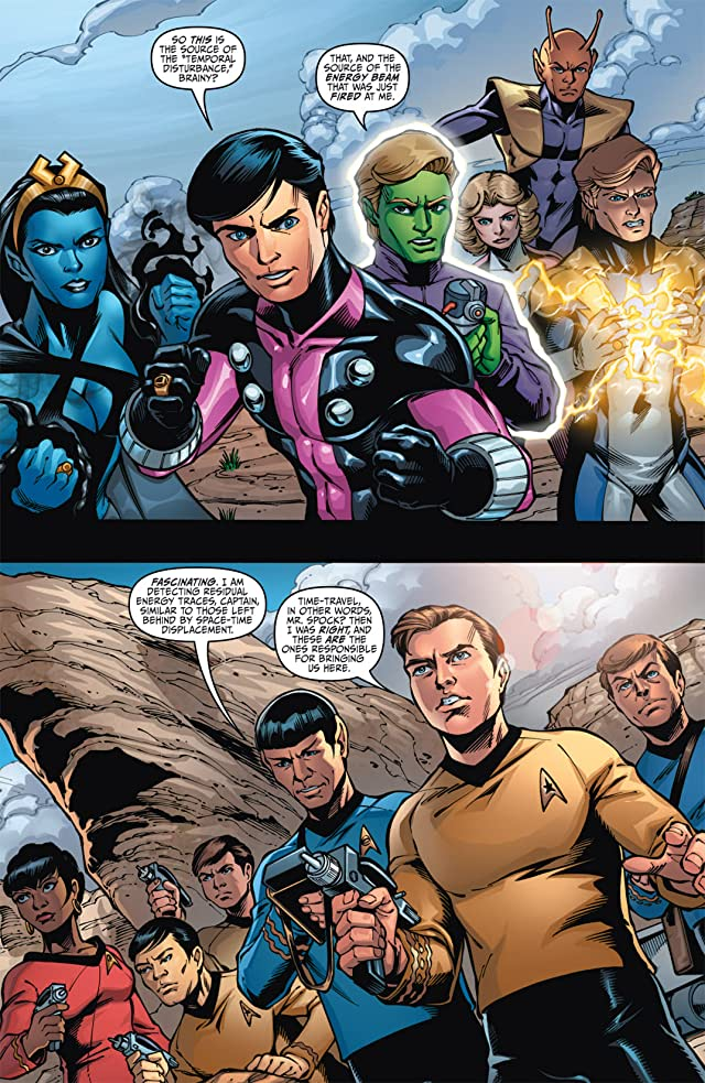 Star Trek/Legion of Super-Heroes #3 (of 6)