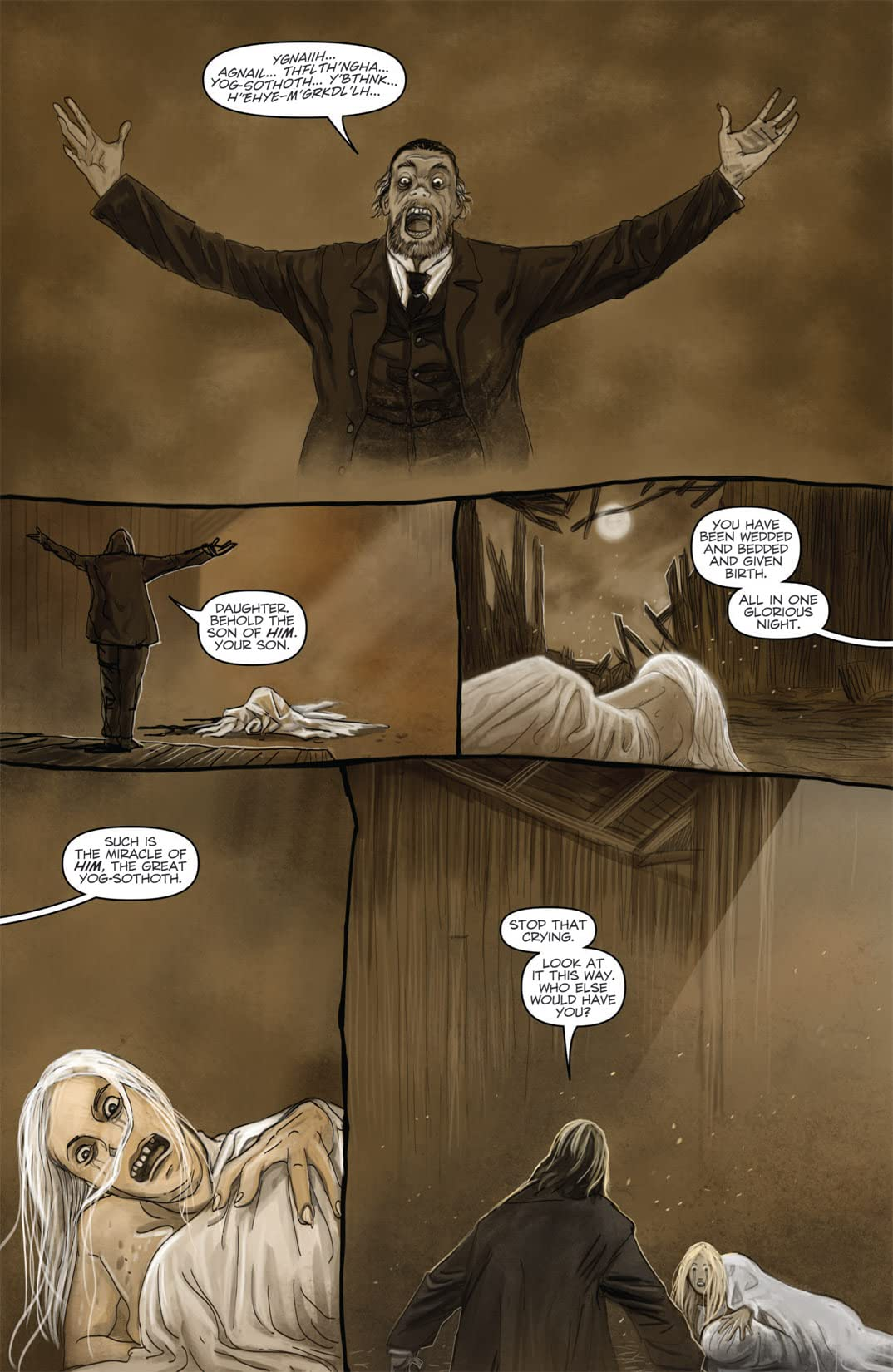 HP Lovecraft: The Dunwich Horror #3 (of 4)