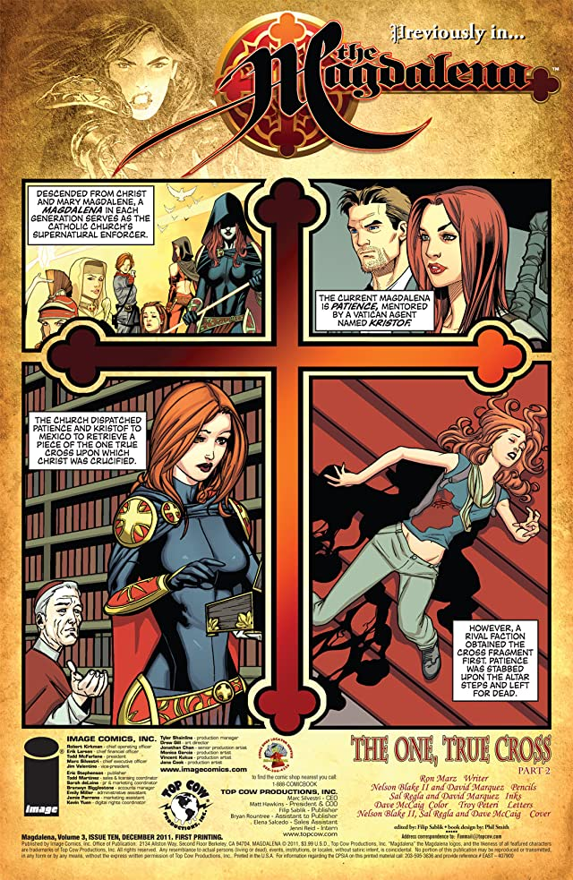 click for super-sized previews of The Magdalena Vol. 3 #10