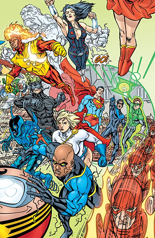 click for super-sized previews of The Brave and the Bold (2007-2010) #15
