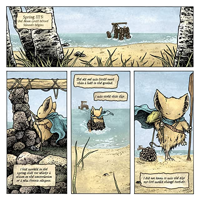 click for super-sized previews of Mouse Guard: The Black Axe #1