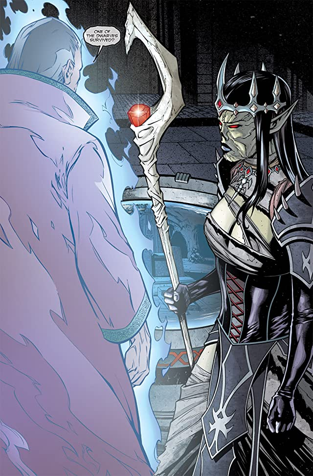 click for super-sized previews of Dungeons & Dragons: Drizzt #1