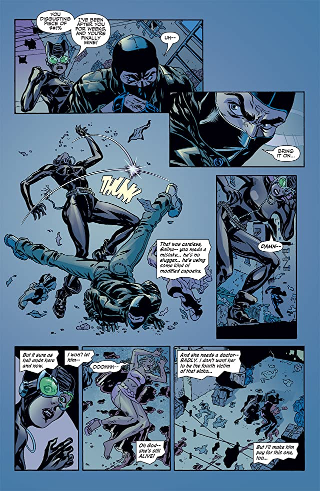 click for super-sized previews of Catwoman (2002-2008) #41