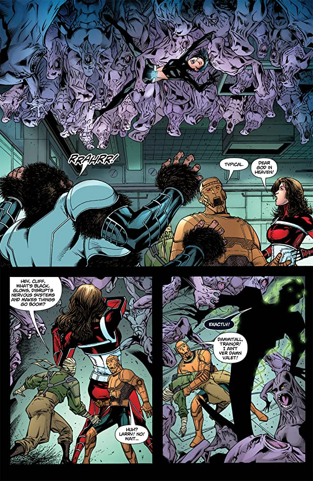 click for super-sized previews of Doom Patrol (2009-2011) #1