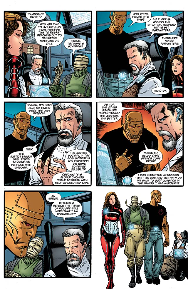 click for super-sized previews of Doom Patrol (2009-2011) #2