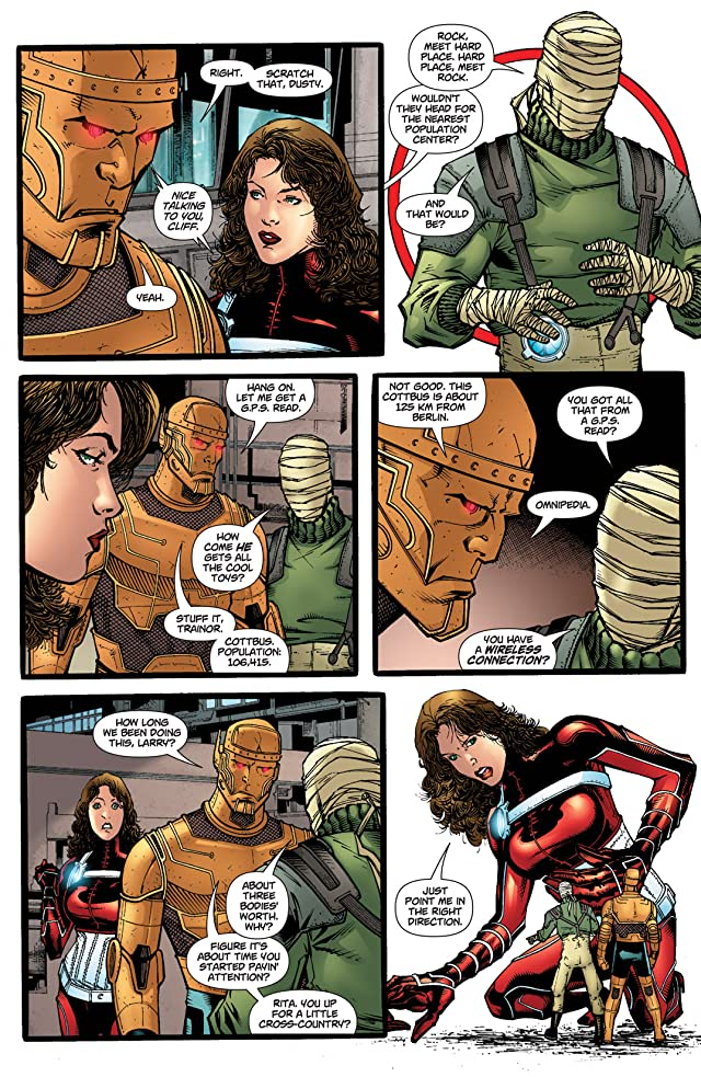 click for super-sized previews of Doom Patrol (2009-2011) #3