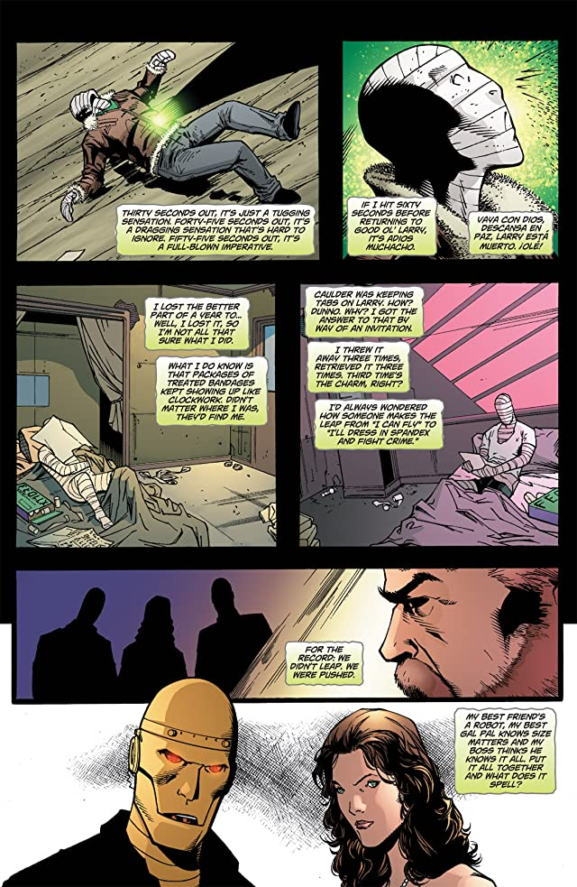 click for super-sized previews of Doom Patrol (2009-2011) #6