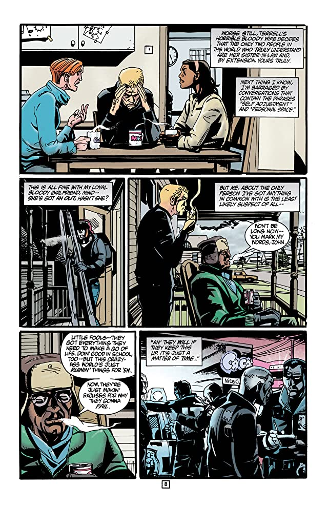 click for super-sized previews of Hellblazer #123